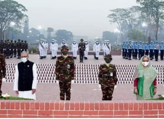 Banglasesh President, Prime Minister pay homage to Liberation War heroes THE POLICY TIMES