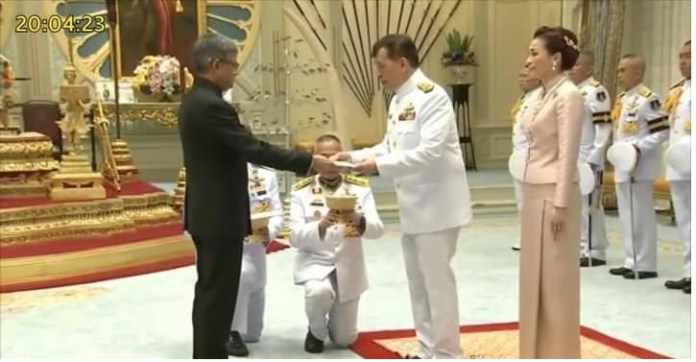 New Bangladesh Ambassador to Thailand presented his letter of credence the policy times