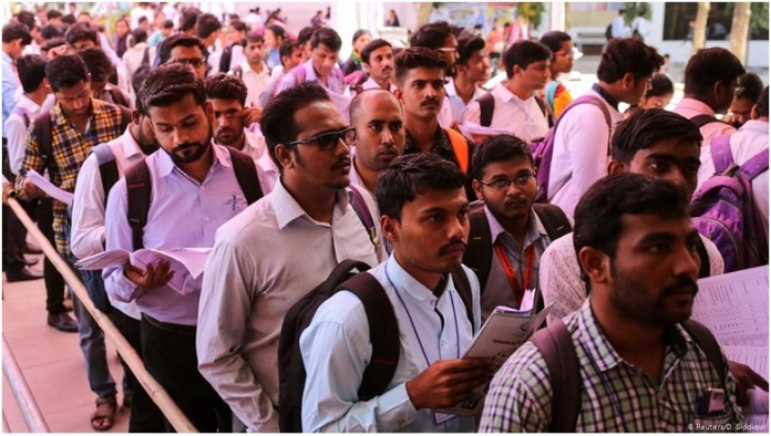 CMIE Report Reveals the Freakish Unemployment Crisis in India the policy times