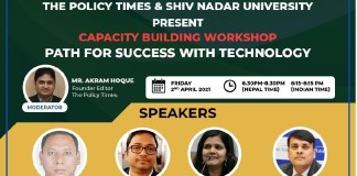 Webinar on Capacity Building | The Role of Technology in Shaping Opportunities and Choices the policy times