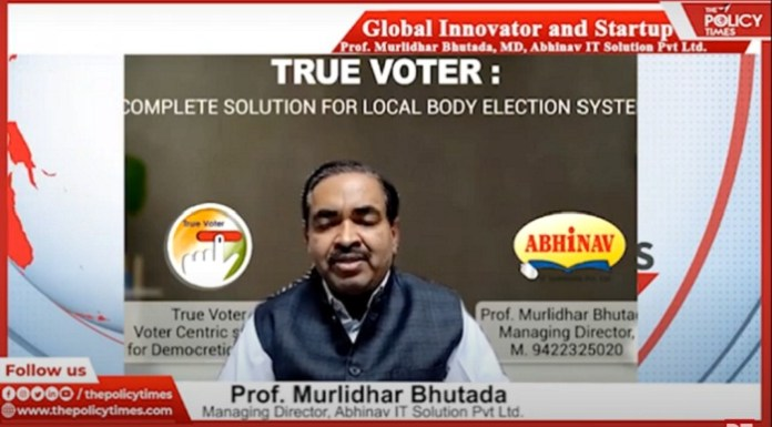 Global Start-Up and Innovation Series: Excusive Interview With with Professor Murlidhar Bhutada, MD of Abhinav IT Solutions Pvt. Ltd. THE POLICY TIMES