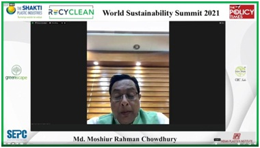 """""""People's narrative brings the change and reinstalling Indian traditional value could bring biggest change on climate action"""" says NITI Aayog Vice Chairman at WSS 2021"""""""