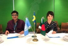 Sweden extended its support to UNDP's Human Rights Programme in Bangladesh