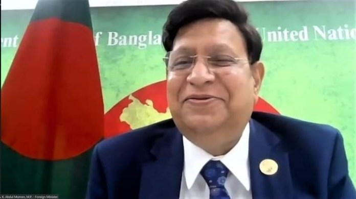 Bangladesh Foreign Minister Dr. Momen urged the UN to take immediate actions to resolve the Rohingya crisis