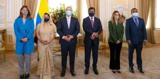Ambassador M Shahidul Islam Presents Credentials to Colombian President as Non-Resident Ambassador