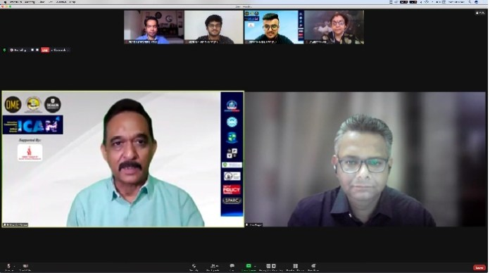 While Pankaj Jain talks about fact check, Dr Jatin from USA, Dr Sharon from Malaysia and Zakaria from Ghana analyse implications of online learning