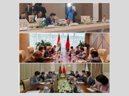 """International Conference on """"Central and South Asia : Regional Connectivity, Challenges and Opportunities"""" Bangladesh's F M had separate bilateral meetings with his counterparts"""