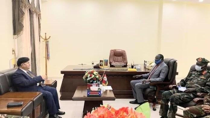 Bangladesh Foreign Minister meets the President of South Sudan Salva Kiir Mayardit in Juba