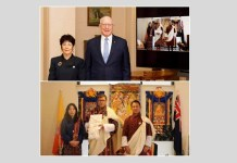 Virtual Presentation of Credentials by the Ambassador of the Kingdom of Bhutan