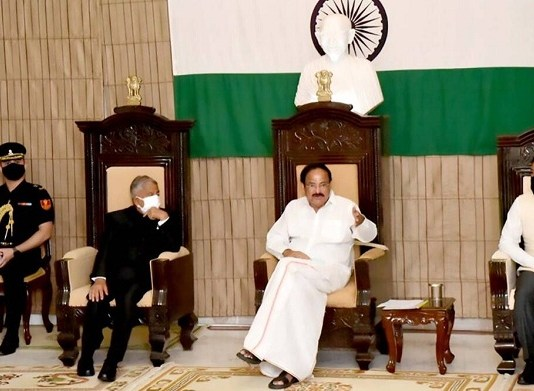 India strongly rejects China's objection to Vice-President Venkaiah Naidu's Arunachal visit