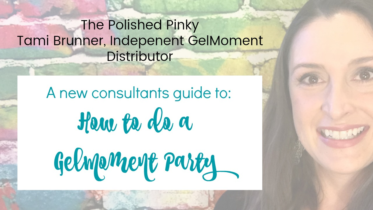 how to do a gel moment party