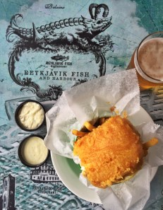 Fish and Chips + a Viking Pilsner