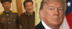 korean prisoner thank trump