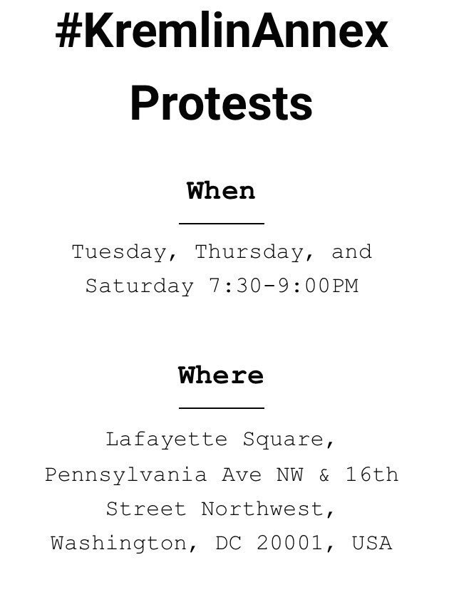 , #KremlinAnnex protest Tuesday Week 70, The Politicus