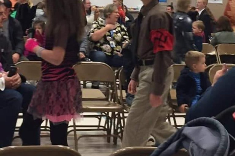 They Did Nazi That Coming. Utah School Admins on Leave After Allowing Nazi Cosplay in School Parade.