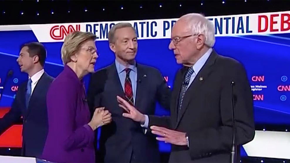 , Did Elizabeth Warren 'dis' Bernie Sanders' handshake, The Politicus
