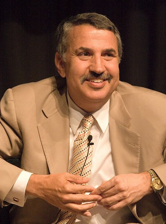 A 2005 picture of NY Times columnist Thomas L. Friedman.