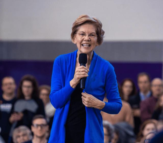 Turn on images to see Elizabeth Warren.