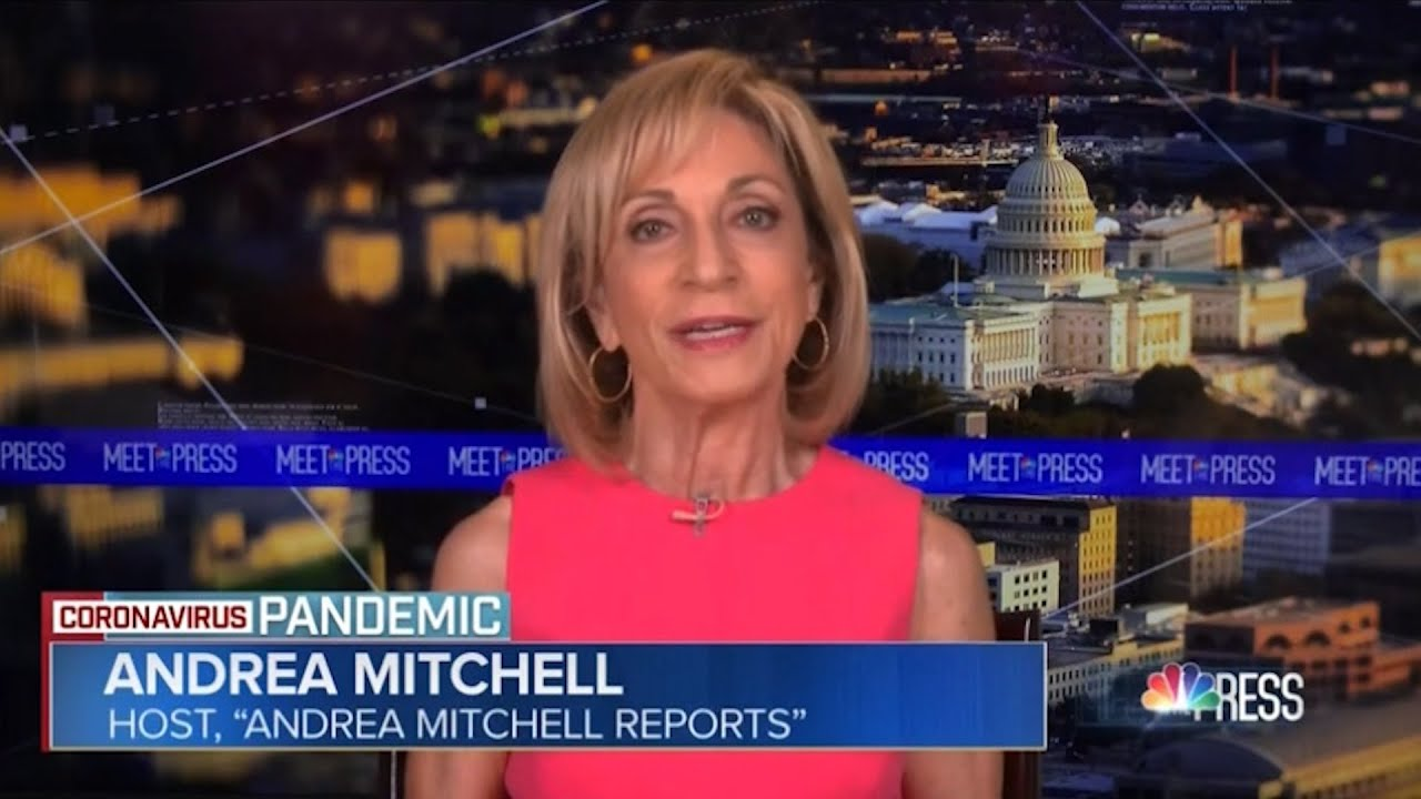 Andrea Mitchel lashes out at Trump's appeasing doctor