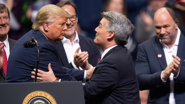 """CO-Sen: """"Cory Gardner's political relationship with the president reads like a tawdry romance novel"""""""