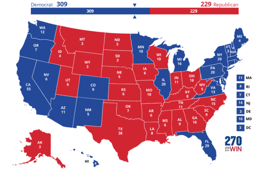 April/May poll leaders look like this, state by state: