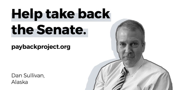 AK-Sen: Indivisible Adds Sen. Dan Sullivan (R) To Their Payback Project Target List