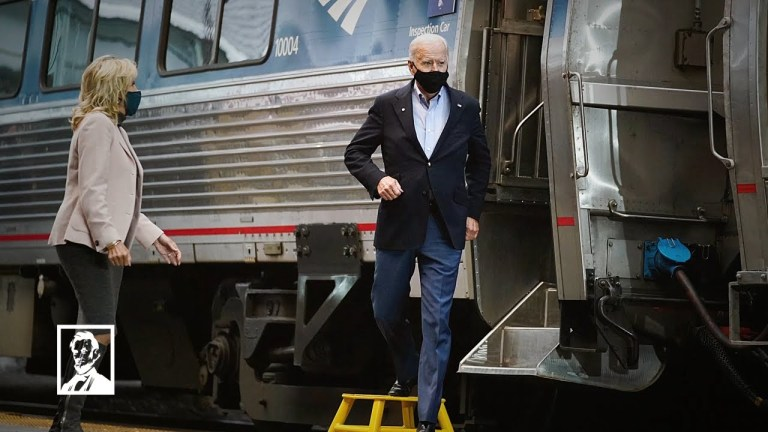 """Lincoln Project: """"Heartland"""" – a good one on Biden & trains & more"""