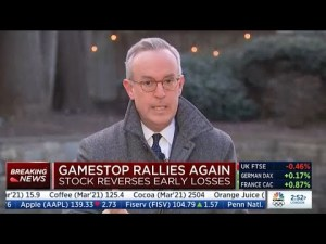 Wall Street scared about market populism: GameStop proves most realize the stock market is a fraud.