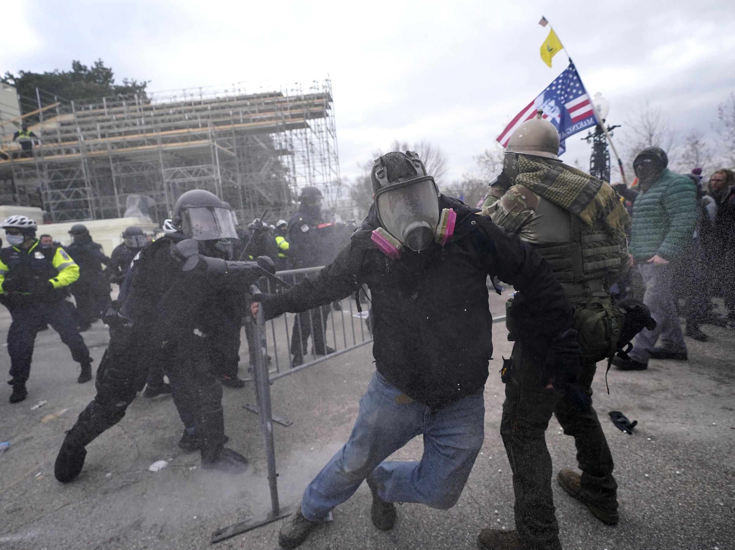, Capitol: Rioters Break Windows to Enter Inside the Building, The Politicus