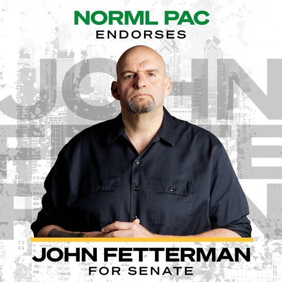 """, PA-Sen: Fetterman (D) Keeps On Defying PA GOP """"Banned Flags"""" Order With Bigger Weed, LGBTQ Flags, The Politicus"""