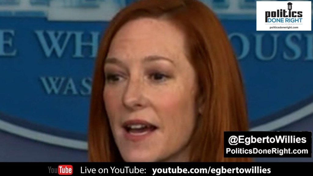 Press Secretary Jen Psaki embarrasses precocious Fox News' Peter Doocy on silly green jobs question