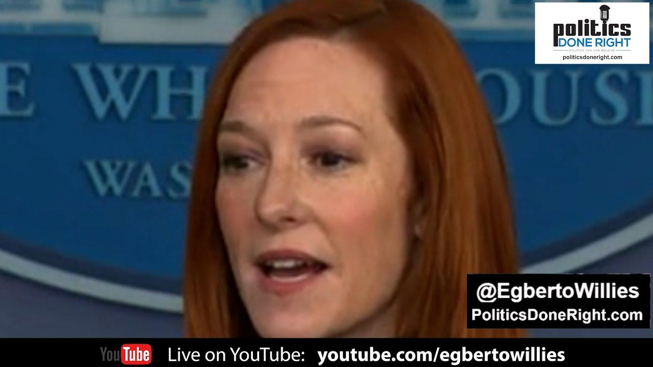 Press Secretary Jen Psaki embarrasses precocious Fox News' Peter Doocy on silly green jobs question