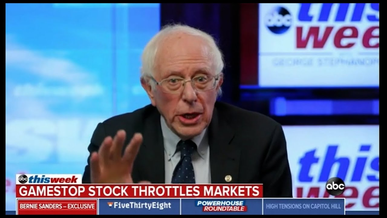 Senator Bernie Sanders & Politics Done Right agrees: The business model of Wall Street is fraud