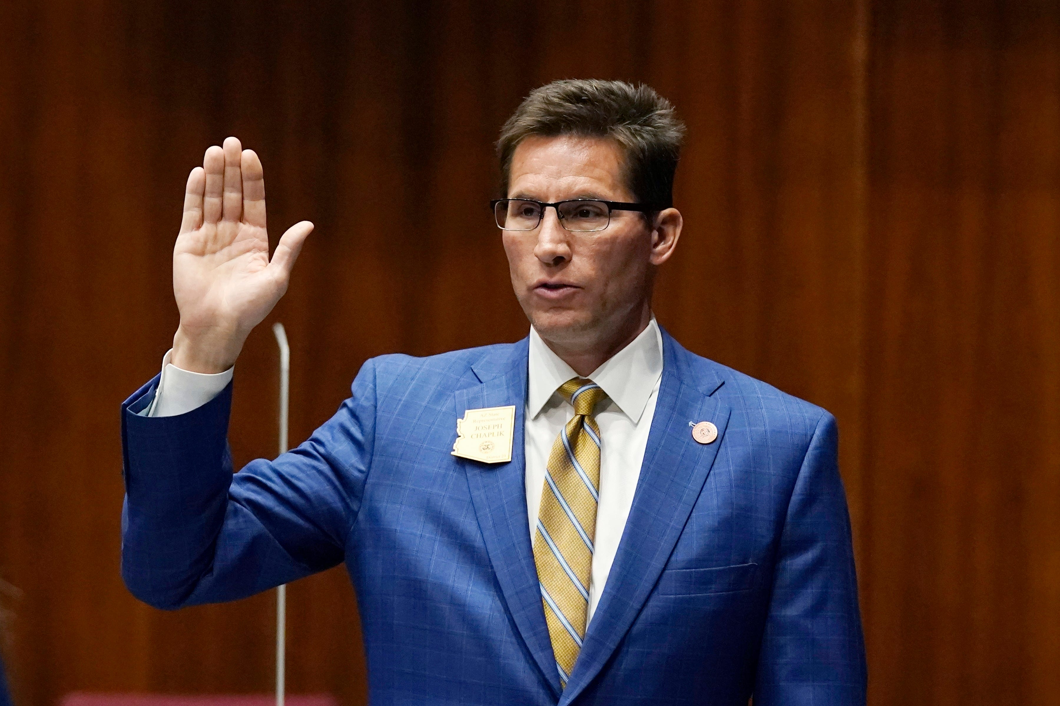 , Arizona House rep says we didn't need masks for AIDS so we don't need them now, The Politicus