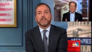 Chuck Todd gets rolled by the Republican Senator allowing the justification of voter suppression.