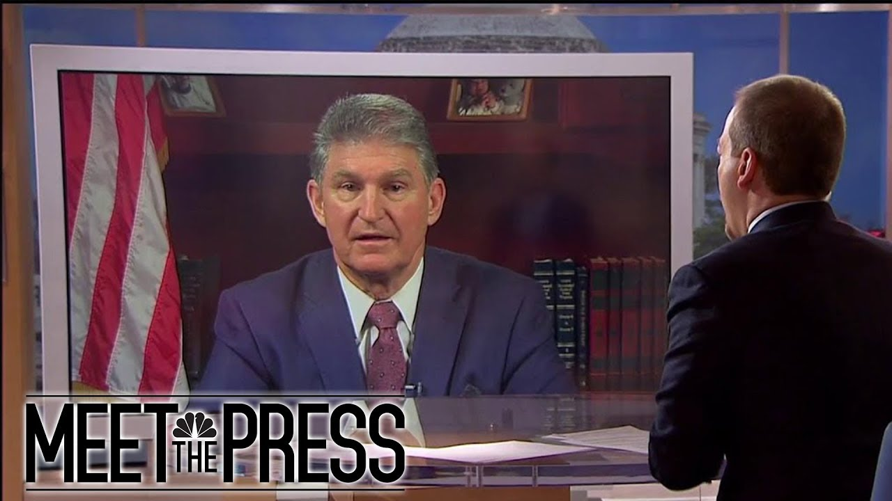 , Chuck Todd schools Senator Manchin: Filibuster was never an idea of the Founding Fathers., The Politicus