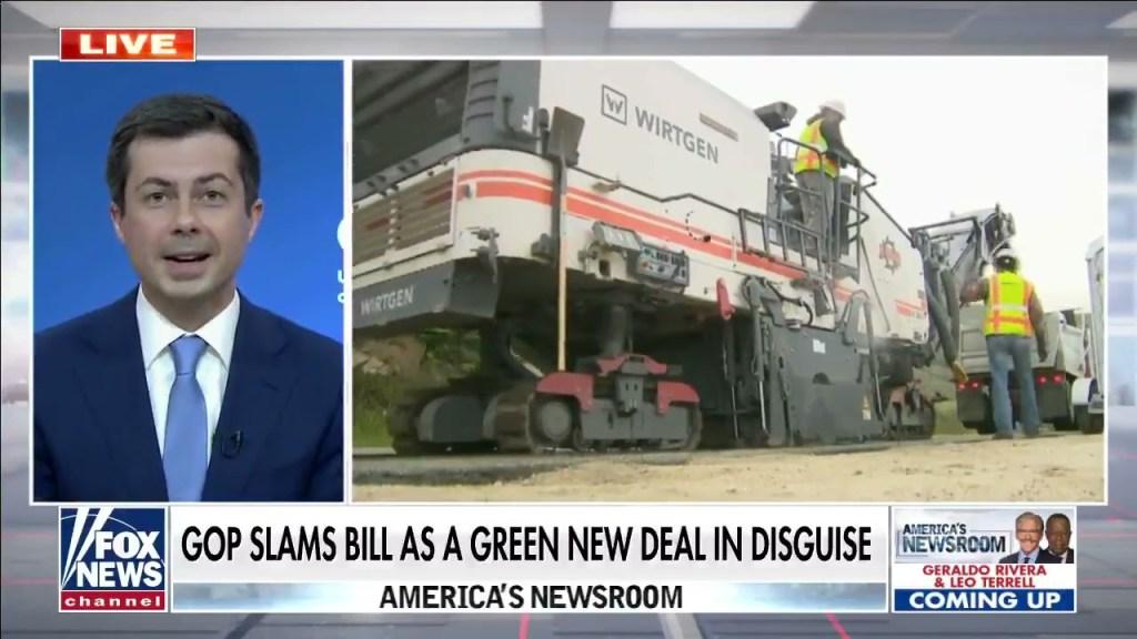 Secretary Pete Buttigieg on Fox News 4/1/2021
