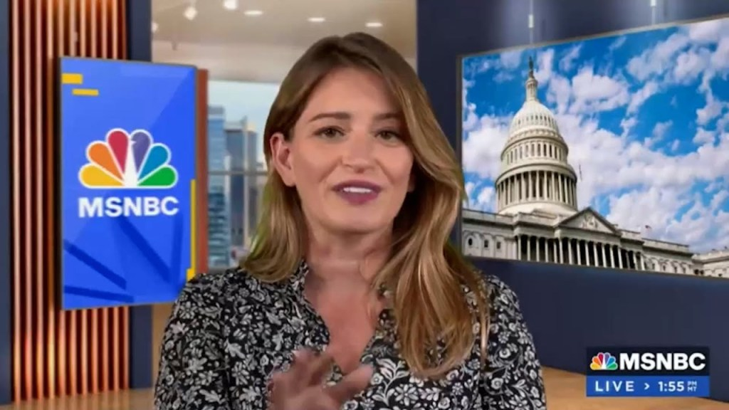 MSNBC host uses her good fortune to blast America's draconian family leave & other social policies