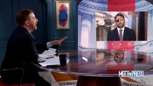 Wow! Chuck Todd goes after Texas Rep Dan Crenshaw, 'There is nothing lazier than that excuse.'