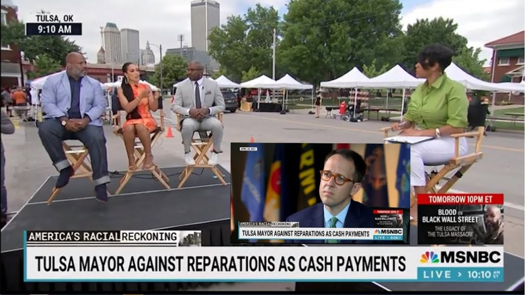 In one segment Tiffany Cross speaks to all sides to make economic & moral case for reparations