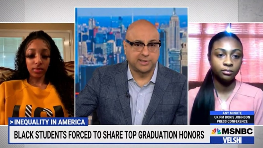 Black valedictorian & salutatorian forced to share award white students with less rigorous courses