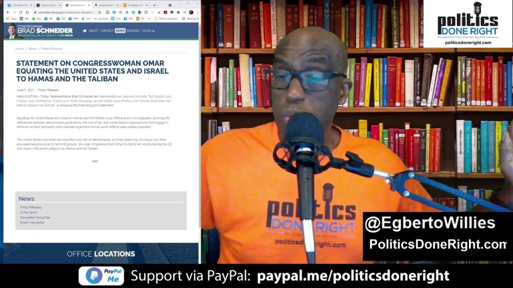 Dennis Kucinich on politics. Racist Military? DOJ Purge a must. Ilhan Omar wrongly maligned. #PTFB