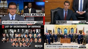 Black Defense Secretary asked if the military is racist then treated with racist disregard