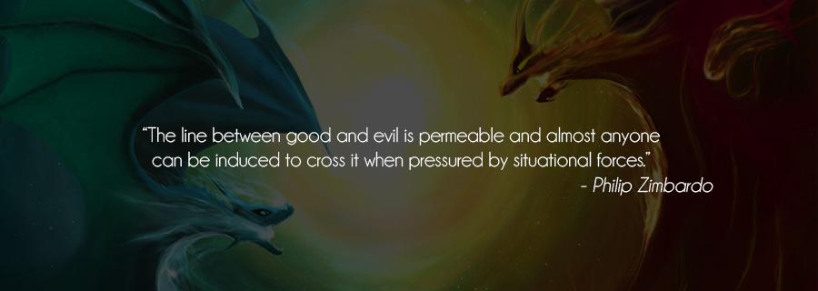 Good vs Evil : Do Good People Do Bad Things?
