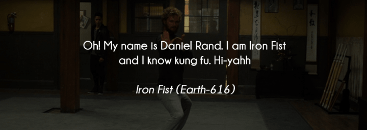 The Best Part of Marvel's Iron Fist is Danny Rand's Morning Routine