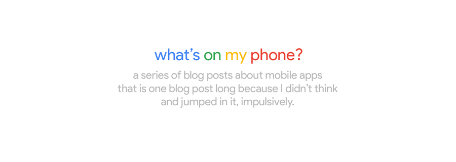 """Look Before You Leap: Why """"What's On My Phone?"""" Was A Bad Idea"""
