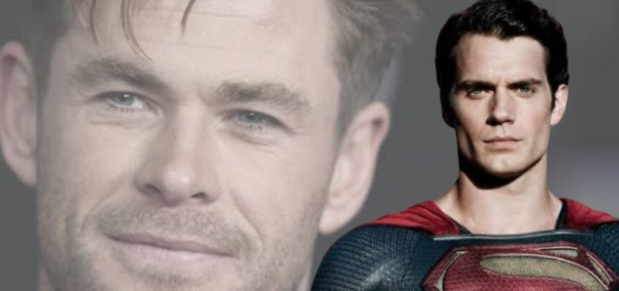 Chris Hemsworth as Superman