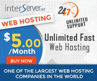 Interserver, the Best and Cheapest Web Hosting
