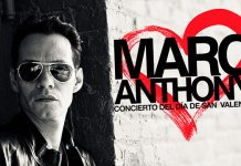 Marc Anthony Valentine's Day Show Poster