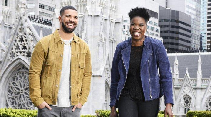 Drake Leslie Jones SNL